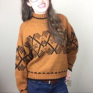 Vintage Knit Sweater size medium  ...B...